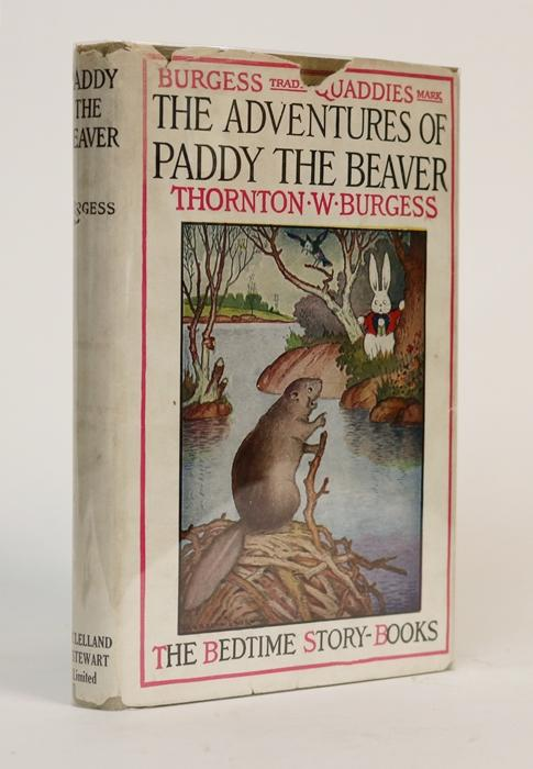 The Adventures of Paddy the Beaver. Thornton W. Burgess.