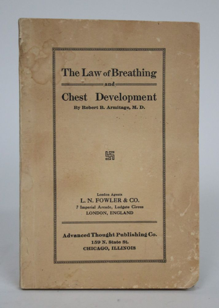 The Law of Breathing and Chest Development by Robert B  Armitage on  Minotavros Books