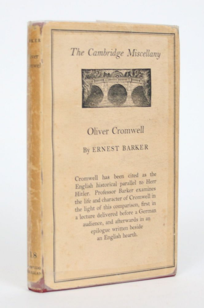 Oliver Cromwell and the English People. Ernest Barker.