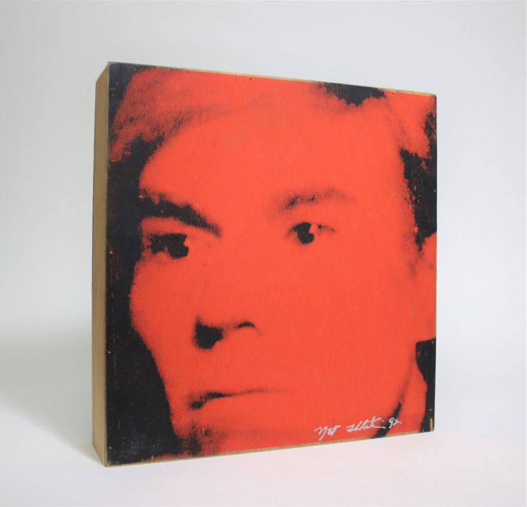 A Catalogue as Multiple: Andy Warhol 1992. Andy Warhol, Nat Finkelstein.