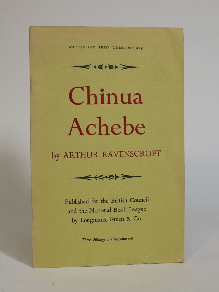 Chinua Achebe. Arthur Ravenscroft.