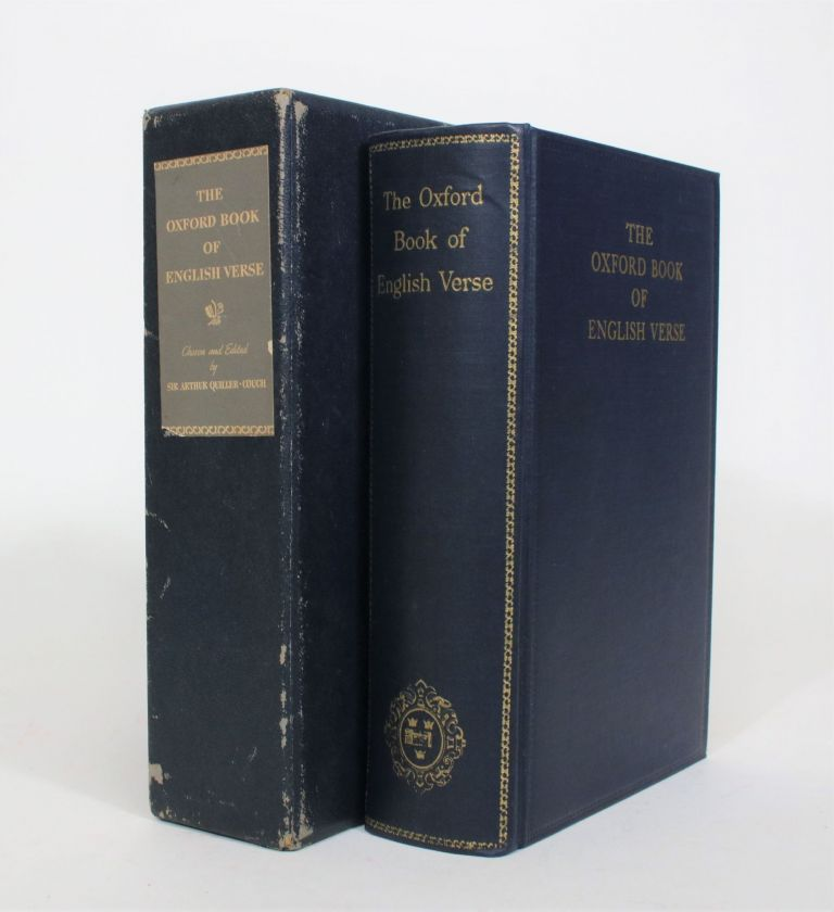 The Oxford Book of English Verse, 1250-1918. Sir Arthur Quiller-Couch.