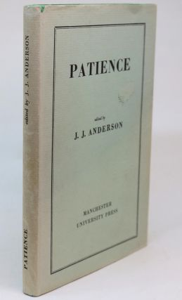 Patience [Old and Middle English Texts]. J. J. Anderson