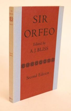 Sir Orfeo. A. J. Bliss