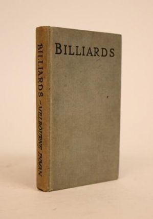 Billiards: How to Play and Win. Introduction By S.A. Mussabini. [Foulsham's Cloth-Bound Pocket...