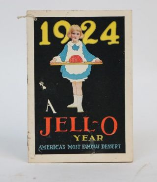 1924 a Jello Year, America's Most Famous Dessert