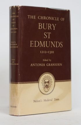 The Chronicle of Bury St Edmunds 1212-1301. Antonia Gransden