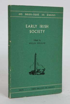 Early Irish Society. Myles Dillon