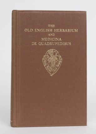The Old English Herbarium and Medicina De Quadrupedibus. Hubert Jan De Vriend