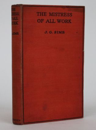 The Mistress of All Work. J. G. Sime
