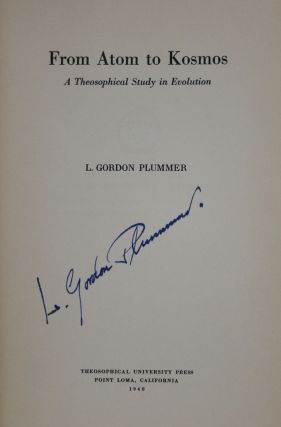 From Atom to Kosmos: A Theosophical Study in Evolution