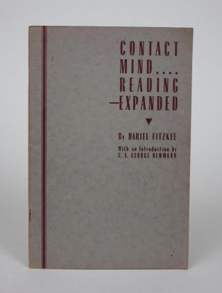 Contact Mind Reading--Expanded. Dariel Fitzkee