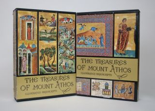 The Treasures of Mount Athos: Illuminated Manuscripts, 2 Volumes. S. M. Pelekanidis, P. C....