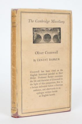 Oliver Cromwell and the English People. Ernest Barker