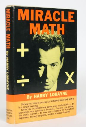 Miracle Math. Harry Lorayne