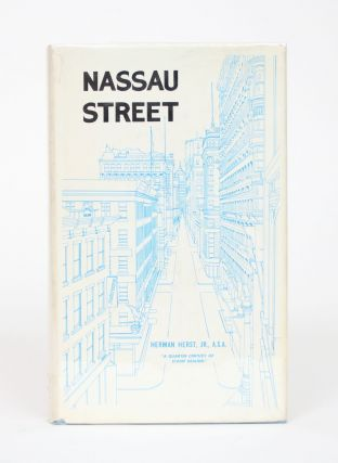 Nassau Street: A Quarter Century of Stamp Dealing. Herman Hearst Jr