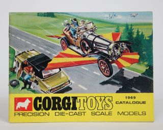 Corgi Toys 1969 Catalogue: Precision Die-Cast Scale Models. Corgi Toys