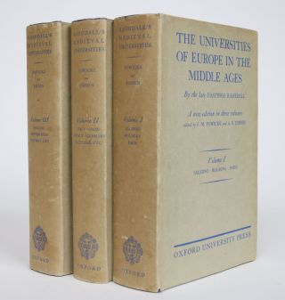 The Universities of Europe in The Middle Ages: A New Edition in Three Volumes. Hastings Rashdall,...