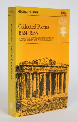 Collected Poems, 1924-1955. George Seferis