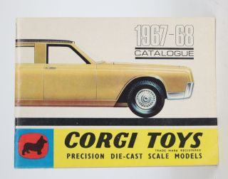 Corgi Toys: 1967-68 Catalogue. Corgi Toys
