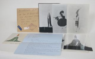Signed Letter from Erte to Brooklyn Architect Ira Goldfarb [In Envelope, with Photos]. Erte
