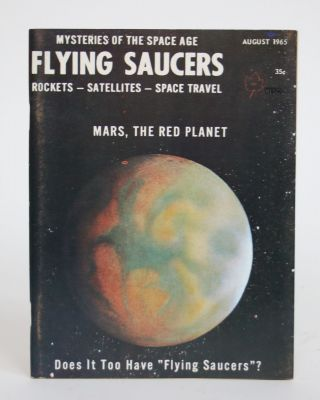 Flying Saucers: Issue No. 43, August 1965. Ray Palmer