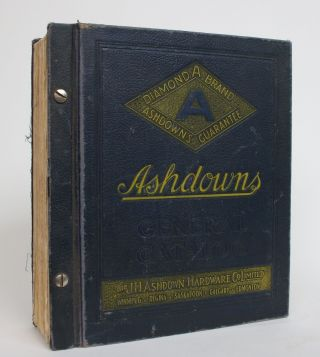 Ashdowns General Catalogue, 1935. The J. H. Ashdown Hardware Company Ltd
