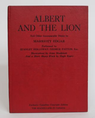 Albert the Lion and Other Incomprable Ditties By Marriott Edgar. Performed By Standley Holloway,...