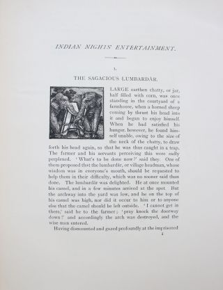 Indian Nights' Entertainment; or Folk-Tales from the Upper Indus