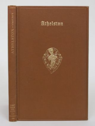 Athelston: A Middle English Romance. A. McI Trounce, Allan McIntyre