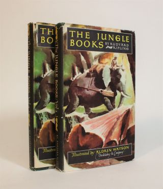 The Jungle Books [2 vols]. Rudyard Kipling